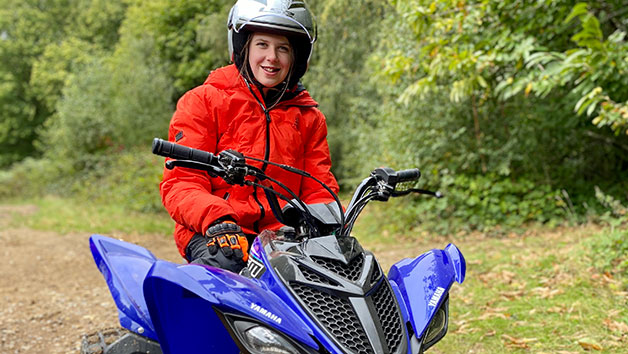 Three Hour Junior Quad Biking Thrill for One in Kent