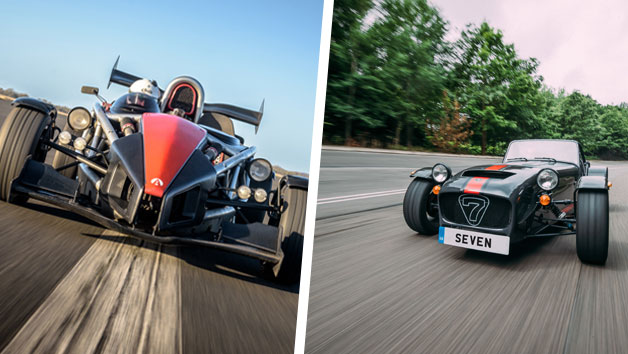 Ariel Atom and Caterham Driving Blast for One Person