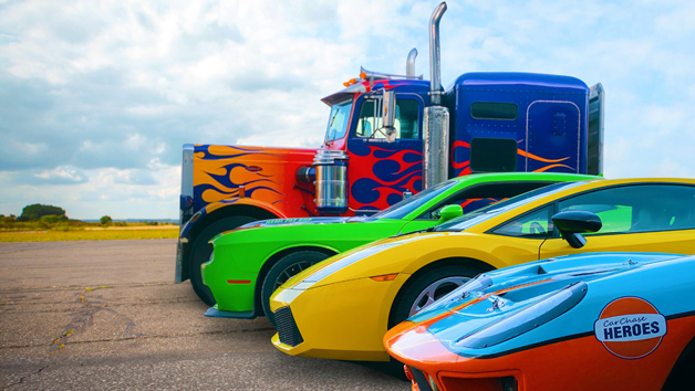The Ultimate Four Car Mash Up Driving Experience Day for One