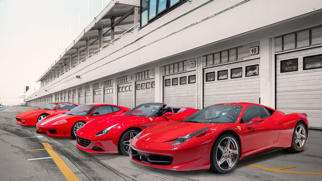 The Ultimate Four Car Ferrari Driving Experience for One