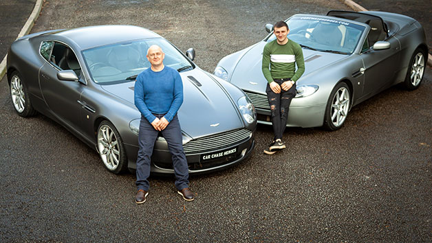 Father and Child Lamborghini, Ferrari or Aston Martin Blast and High Speed Passenger Ride