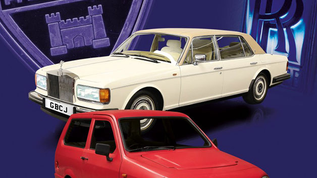 Drive Dad's Car: A Three-car Driving Experience from the Classic, Premium or Luxury Collection