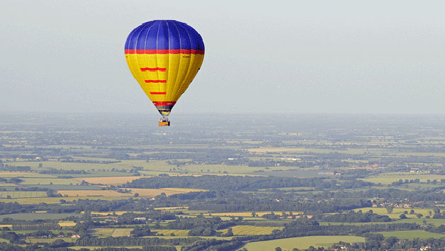 Hot Air Balloon Flight with Champagne for One - Suffolk