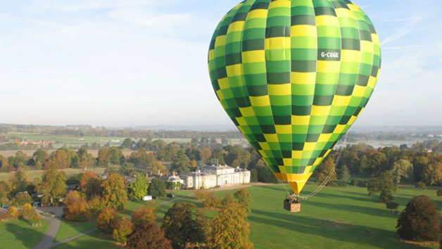 Weekday Hot Air Balloon Flight with Champagne for One