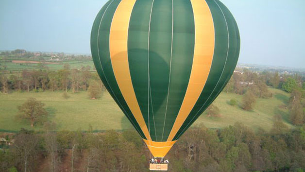 Private Hot Air Balloon Flight with Champagne for Two