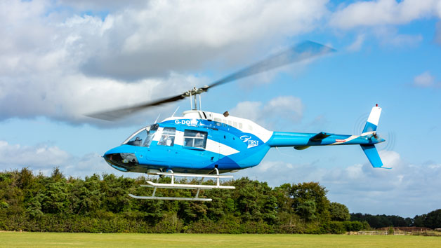15 Minute Helicopter Tour for Two with Bubbly