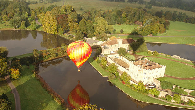 Sunrise Hot Air Balloon Flight with Champagne for One