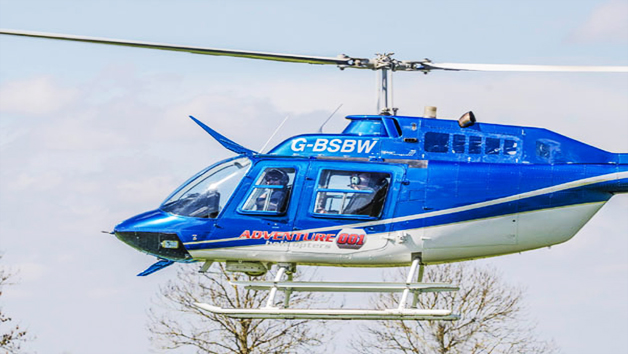 5 Minute Helicopter Tour for Two with Bubbly