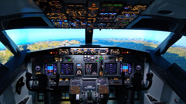 30 Minute Boeing 737 Flight Simulator for One in Newcastle-Upon-Tyne