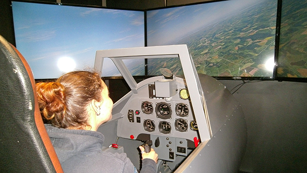 30 Minute Messerschmitt Simulator Flight in Bedfordshire for One Person