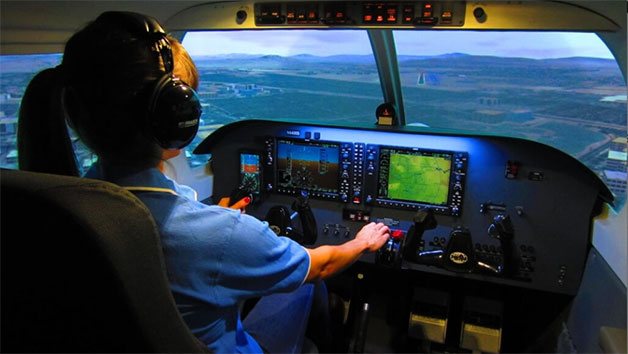 Piper PA-28 Cherokee Flight Simulator for One