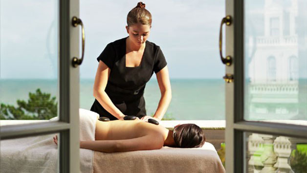 Organic Relaxation and Spa Experience at The Grand Hotel