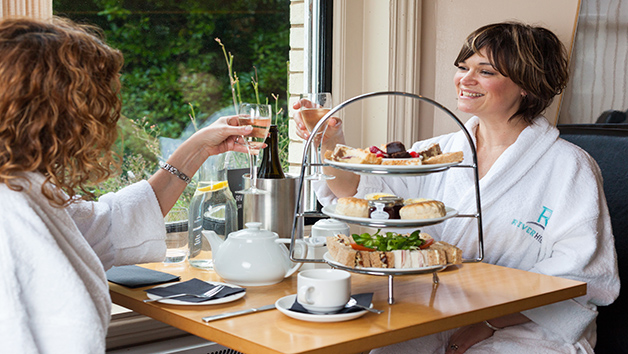 Indulgent Spa Day with Treatments and Afternoon Tea for Two at Riverhills