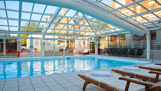 Spa Day with Lunch at Bournemouth West Cliff for Two