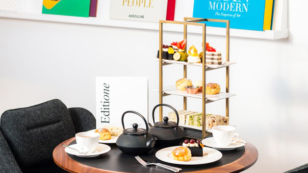 Spa Treat with 60 Minute Treatment and Afternoon Tea at The Edwardian Manchester for Two