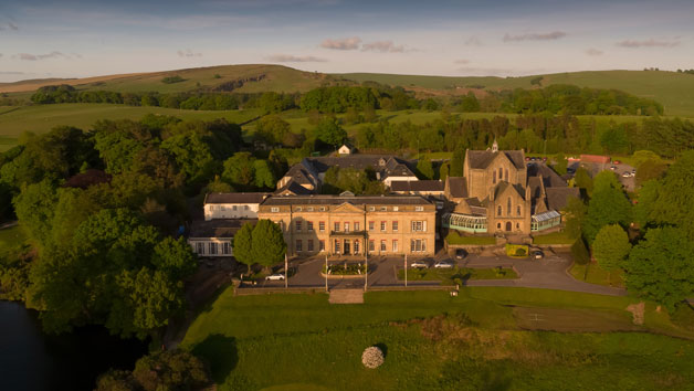 Spa Experience with 55 Minute Treatment and Lunch at Shrigley Hall Hotel for Two