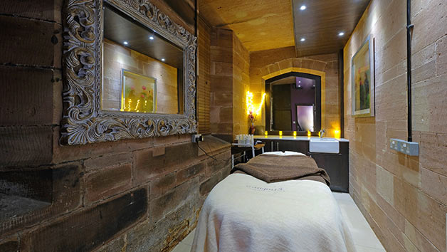 Tranquil Spa Day with a 55 Minute Treatment and Prosecco for Two at Peckforton Castle