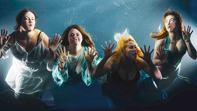 Group Underwater Photoshoot at TankSpace for Five People