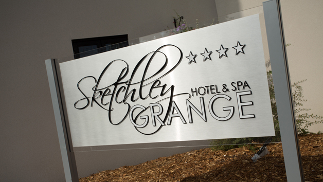 De-Stress Spa Day and Lunch with a 25 Minute Treatment for Two at Sketchley Grange Hotel and Spa