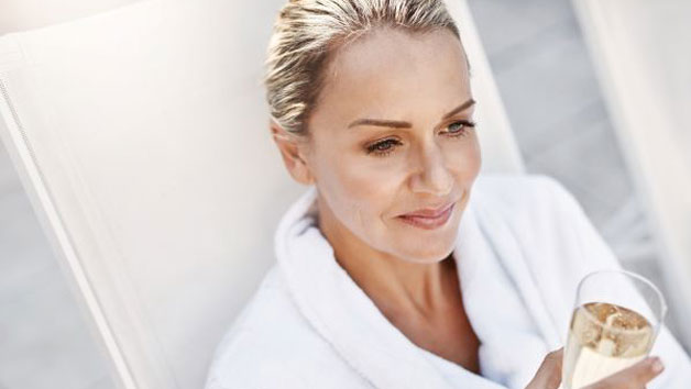 Glow Getter Spa Day with a 40 Minute Treatment and Lunch at Whittlebury Hall for Two