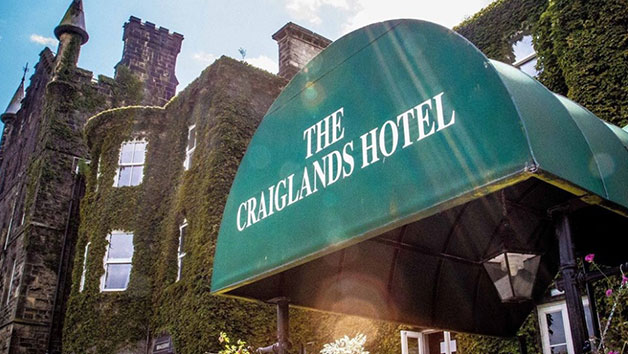 Evening Spa Experience with a Two Course Dinner at Craiglands Hotel for One – Weekends