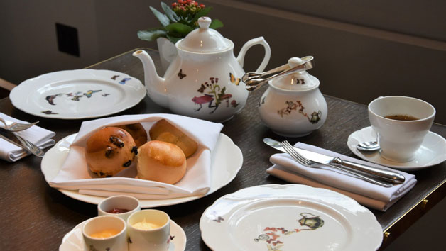 Weekday Delightful Spa Day with Cream Tea and a 60 Minute Treatment at The Spa at The Athenaeum