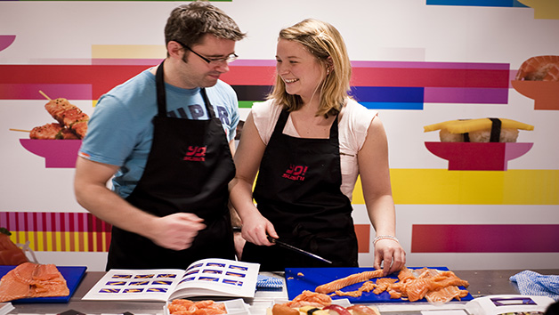 Sushi Making Class with YO! Sushi for Two