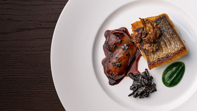 Three Course Lunch with Bubbles for Two at Seven Park Place