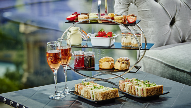 Champagne Afternoon Tea with Panoramic Views for Two at Marco Pierre White Restaurant, Birmingham