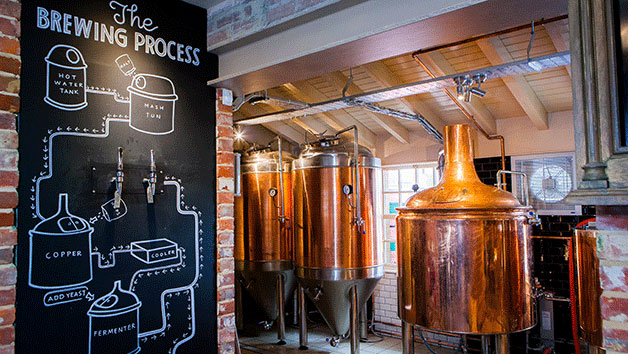 Brewery Masterclass for One at Brewhouse and Kitchen