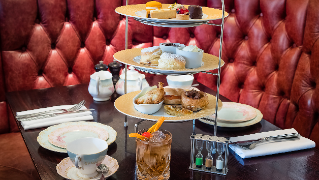 Gentleman's Champagne Afternoon Tea at Reform Social & Grill for Two