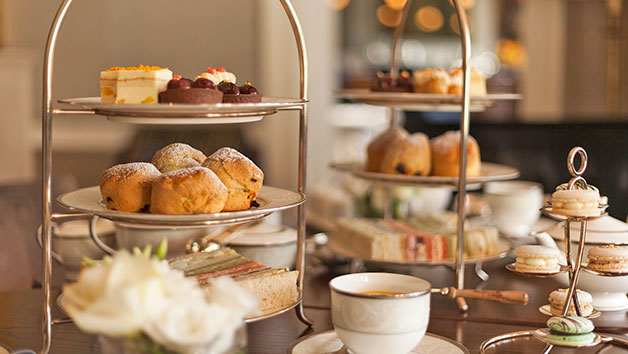 Vegan Afternoon Tea with a Glass of Sparkling Wine for Two at The Hyde at Roseate House Hotel