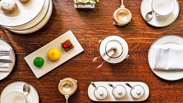 Traditional Afternoon Tea for Two at The Hyde at Roseate House Hotel