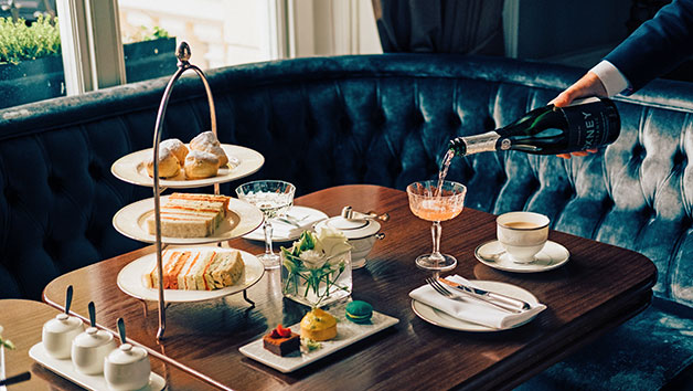 Afternoon Tea with a Glass of Champagne for Two at The Hyde – Special Offer