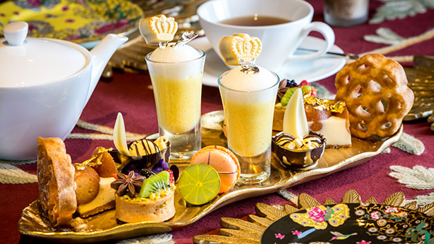 Jasmine Indian Afternoon Tea for Two at 5-star Taj 51 Hotel