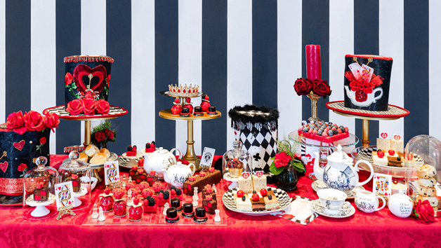 Alice's Queen of Hearts Themed Afternoon Tea for Two at 5* Taj 51 Hotel