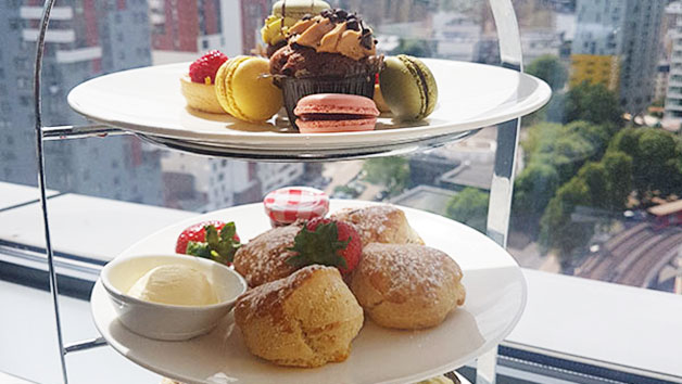 Afternoon Tea with Bottomless Fizz at Hilton Canary Wharf Hotel