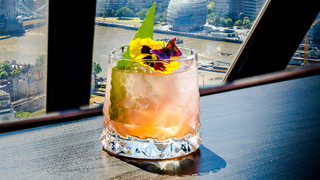 Cocktails for Two at Searcys at The Gherkin