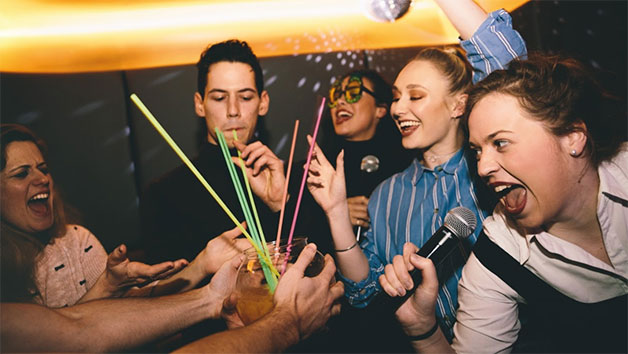 Bottomless Brunch with Drinks and Karaoke at Lucky Voice Islington for Two