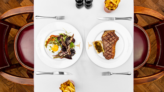 Three Courses with Sides and Cocktails at Marco Pierre White's London Steakhouse Co Restaurant