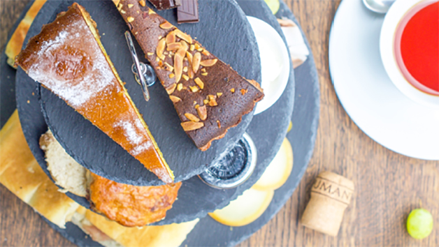 Afternoon Tea and Bottle of Prosecco at Veeno Italian Wine Cafe for Two