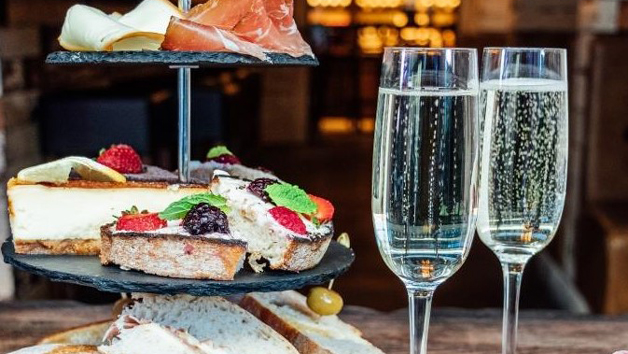 Afternoon Tea and Bottle of Prosecco at Veeno for Two