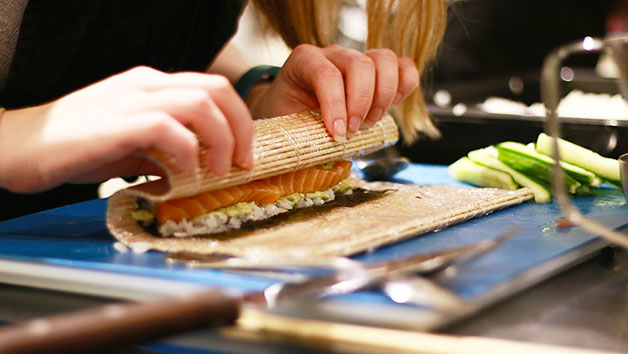 Sushi Class at The Avenue Cookery School