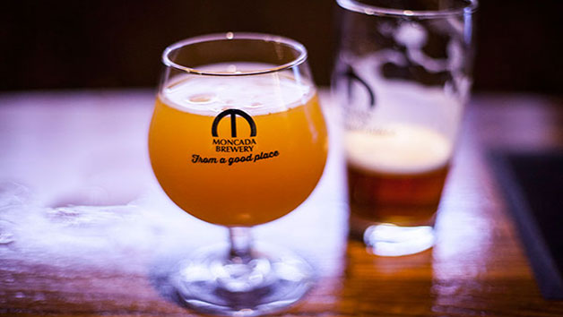 Brewery Tour with Four Tastings for Two at Moncada Brewery and Taproom