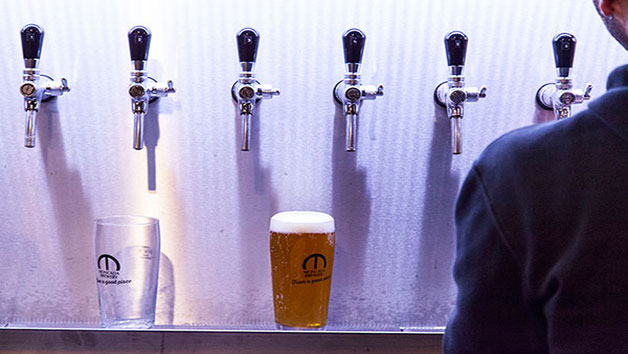 Two hour Brewery Tour with Tasting for two at Moncada Brewery and Taproom