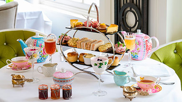 Gin and Jam Afternoon Tea with Cocktail Masterclass for Two at Hush