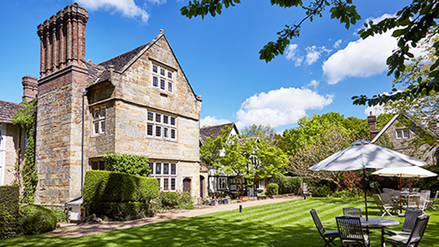 Spa Day with Treatment and Afternoon Tea for Two at Ockenden Manor