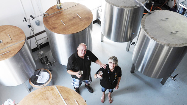 Premium Brewery Tour with Lunch for Two at Kissingate Brewery
