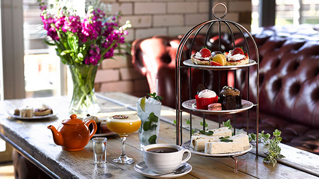 Afternoon Tea with a Cocktail for Two at Revolution Bars