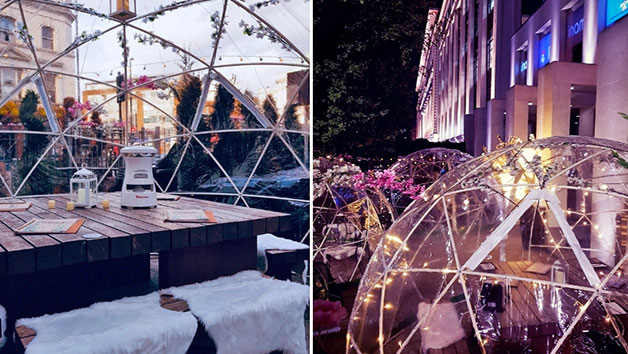 Twelve Dish Sharing Menu and Fizz in a Festive Dining Dome for Two at Inamo Camden